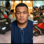 VIDEOS: Kwadwo Safo Jnr's 35th Car-themed Birthday Cake Is Just Like One Of Their Needless Sophisticated Cars
