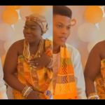 Video Of A Ghanaian Young Boy Marrying A Woman Older Enough To Be His Mother Goes Viral