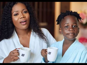 VIDEO: Mzbel's Baby Daddy Shows Up On Their Son's 8th Birthday To Pray For Him After Years Of Hiding