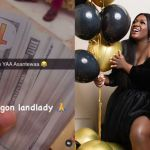 VIDEO: Tracey Boakye Shows Off Bundles Of 100 Dollar Bills She Took As Rent From A Tenant Occupying Her East Legon Mansion To Prove She Still Owns The House