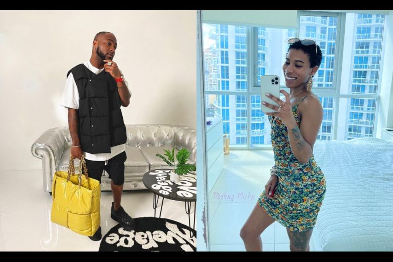 American P*rnstar, Darling Nicky, Exposes Davido For Sleeping With Her And Refusing To Pay