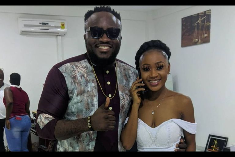 DKB And Akuapem Poloo Are Chasing Clout As He Claims To Have Reported Her To The Police Over Allegations That He's Squandered Ghc4,000 Donated To Her