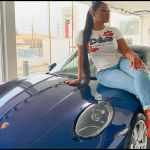 Sandra Ankobiah Claims She Just Received A 2021 Porsche 911 Carrera - Slaying And Professional Wh*ring Finally Paid Off?