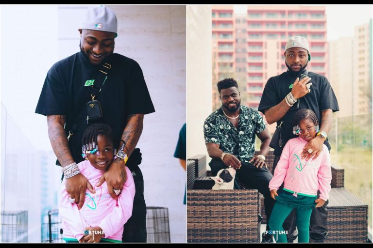 VIDEO: Davido Gifts His Daughter, Imade, A Range Rover As Her Birthday Present