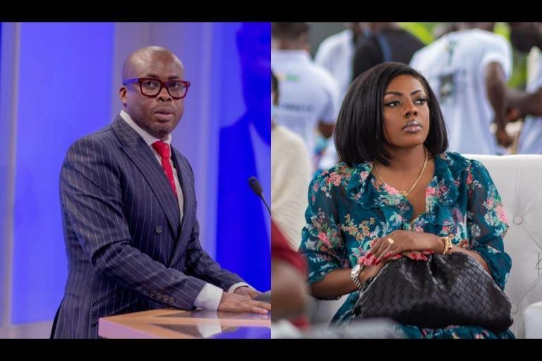 Nana Aba Anamoah Drags Paul Adom-Otchere And Knocks Sense Into His Head Over The 'Fix The Country' Campaign