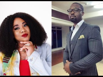 Actress Stella Damascus And Her Estrange Lover, Daniel Ademinokan Throw Shade At Each Other On Instagram