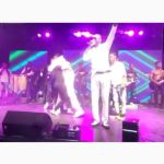 Watch The Moment Stonebwoy Gave Serwaa Amihere An Unusual Hug at His 'Anloga Junction' Album Concert