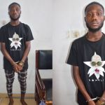 PHOTOS: Police Arrests 22-year-old Internet Fraudster, Vincent Tawiah, For Defrauding People Under The Pretext Of Selling iPhones To Them