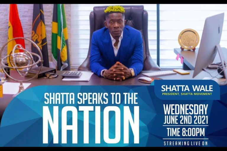 Shatta Wale To Address The Industry After Returning From The United States