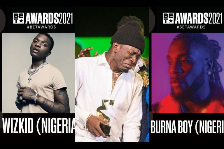 BET Awards 2021: Shatta Wale Missing For The Umpteenth Time In The Category 'Best International Act' - Burna Boy, Wizkid And Others Nominated