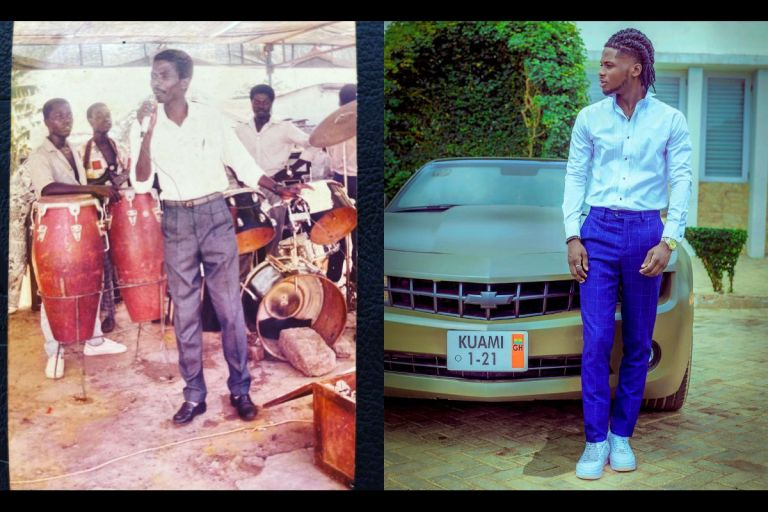 Kuami Eugene Finally Flaunts His Biological Father And Celebrates Him On Father's Day