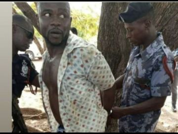 One Of The Gun-wielding Men Allegedly Arrested By The Police