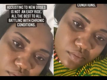 VIDEO: Abena Korkor Receiving Medical Attention After Her Relapse And L***king Brouhaha