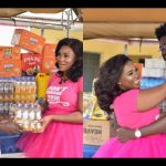 Abena Korkor Donates To Patients At The Accra Psychiatric Hospital