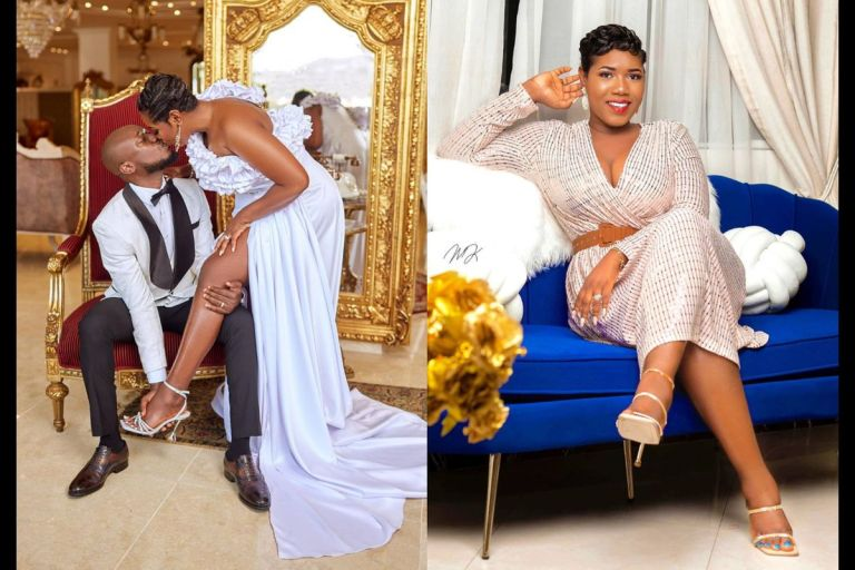 Eugene Nkansah Celebrates 2 Years Of Marriage Anniversary And Apologizes To His Wife For L**king The Juice Out Of Abena Korkor's Pxxy