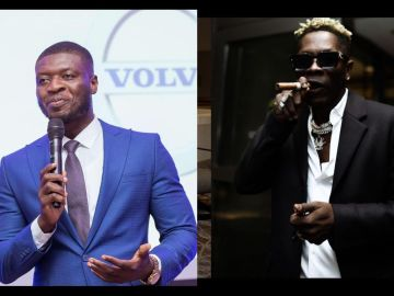 Shatta Wale Fires Shots At Lexis Bill For Claiming He's A Coward
