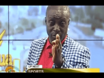 VIDEO: Captain Smart Shed Tears On Live Television Over Ghana's Economic Woes As A Result Of Bad Leadership