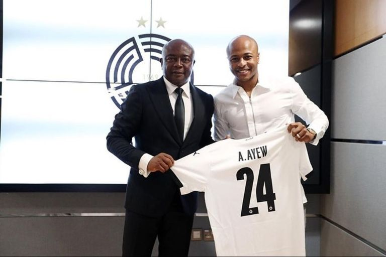 Black Stars Captain, Andre Ayew, Signs A Two-year Juicy Deal With Qatar's Al Sadd