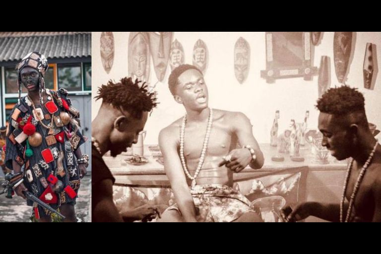 Kumerican Artistes Don Elvi, Yaw Tog And Kweku Flick Release A New Song 'Yaaba' And It's A Banger
