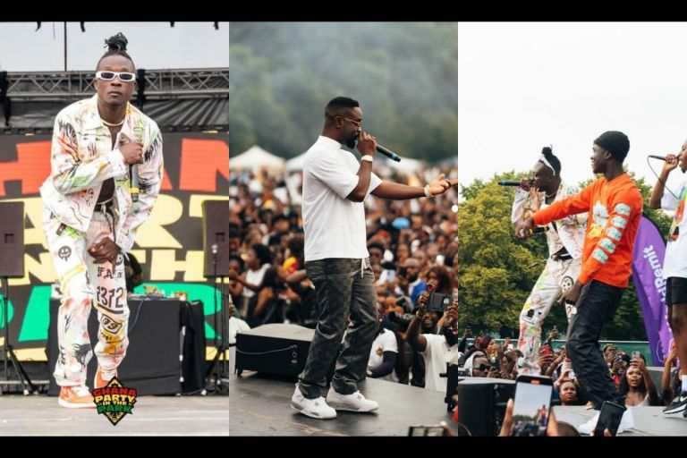 How Sarkodie, Yaw Tog, Kweku Flick, Mr Drew And Others Were Paid Peanuts To Perform At 'Ghana Party In The Park' Concert In The UK