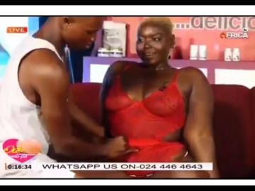 VIDEO: Mentally-ill Joan Of TV3 Date Rush Turns A S*x Object Used To Demonstrate How S*x Is Done On Live Television