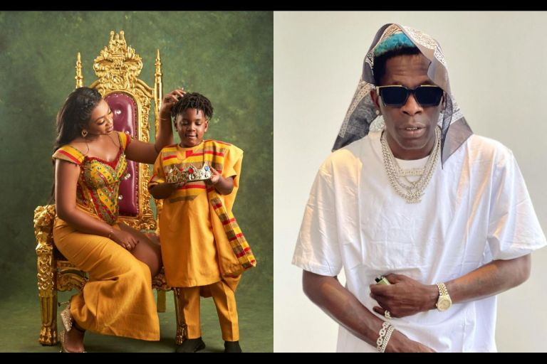 Michy Disgraces Shatta Wale - Says He Doesn't Pay Their Son, Majesty's School Fees