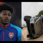 PHOTO: Arsenal's Ainsley Maitland-Niles Involved In A Serious Car Accident
