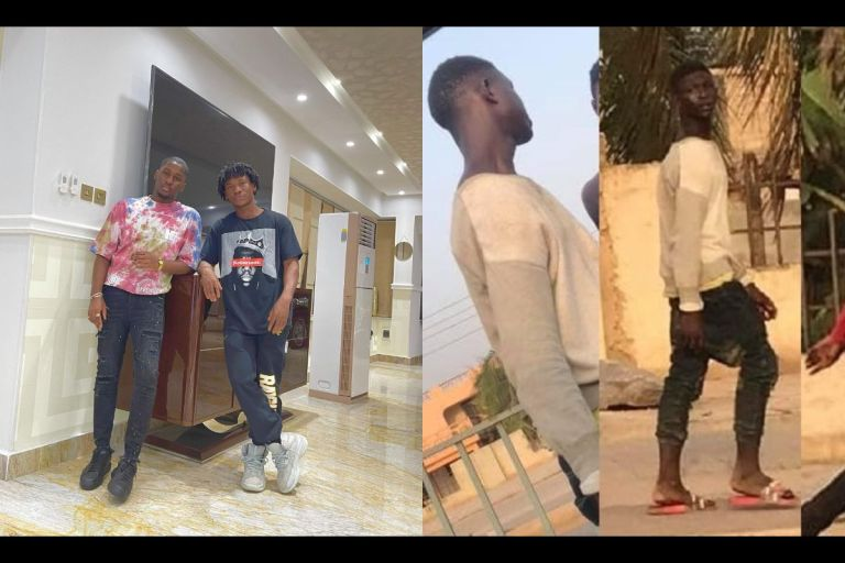 VIDEO: Abraham Attah Dumps Ashaiman Street Boys, Parties With Despite's Son, Saa Hene And Pretty Girls In A Plush Mansion After Landing In Ghana