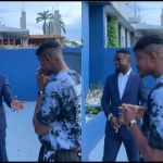 Sarkodie Could Be 50 Years Looking At How He Holds Cigar In His Videos - Fan Says