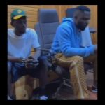 VIDEO: Black Sherif And Omar Sterling Hit The Studio Probably To Record Remix Of 'Second Sermon'