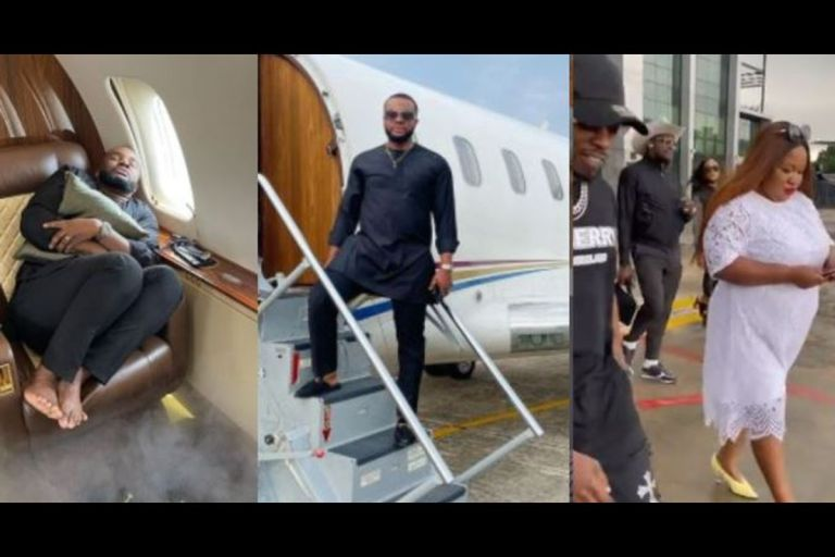 VIDEOS: Actor Williams Uchemba Busted For Faking A Private Jet Trip Paid By A Woman