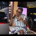 PHOTOS: Shatta Wale Ridiculously Claims He's The First African Musician To Get A Customized Car