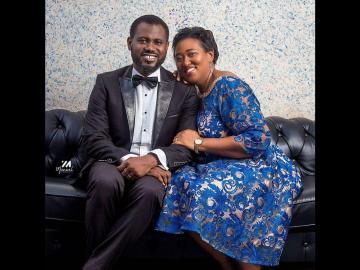 PHOTOS: Abeiku Santana Celebrates His Wife As She Celebrates Her Birthday Today