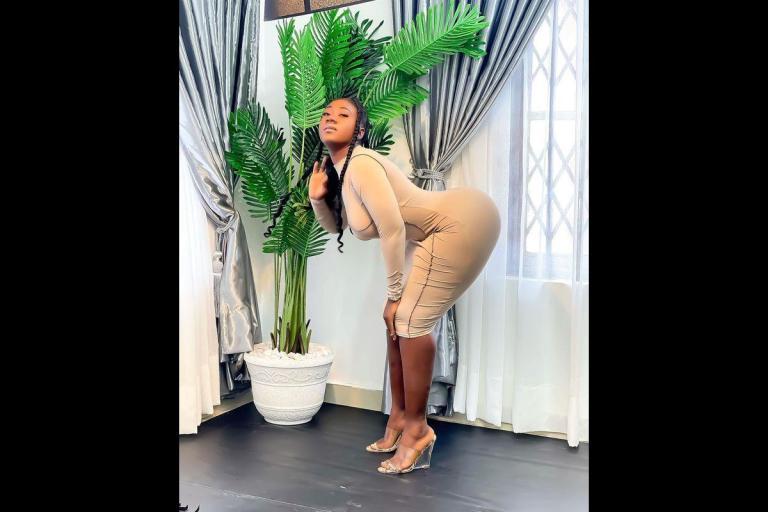1 Million Ghanaians With Majority Being Men, Follow Hajia Bintu On TikTok Obviously Because Of Her Big B*tts