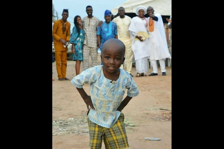 Latest Cute Photos Of The Little Boy Who Photobombed A Viral Wedding Photoshoot