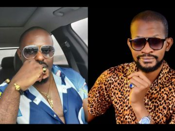 """""""Jim Resets Your Thinking"""" - Fans Mock Uche Maduagwu After Jim Gave Him The Beating Of His Life"""