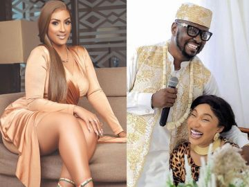 AUDIO: Juliet Ibrahim Exposed For Allegedly Sleeping With Tonto Dikeh's New Lover, Prince Kpokpogri