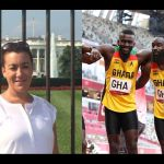 Angry Ghanaians Descend On US Journalist, Shalise Manza Young, For Looking Down On Ghana's 4x100m Relay Team After Qualification