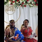 More Photos Of Late President Atta Mills' Son, Kofi Mills' Marriage To His Ghanaian Girlfriend In London Pop Up