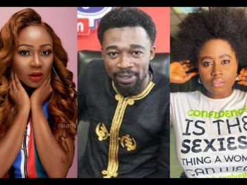 VIDEO: Lydia Forson Angrily Reacts To Doom Prophecy By Eagle Prophet On Akuapem Poloo's Life