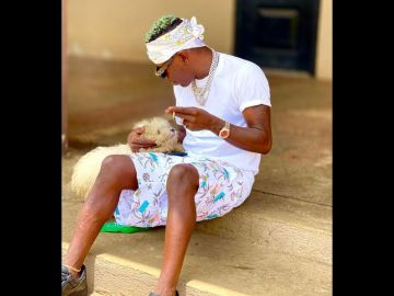 """""""At Least This One Will Stay Home"""" - Shatta Wale Believes His New Dog Is Better Than His Baby Mama, Michy"""