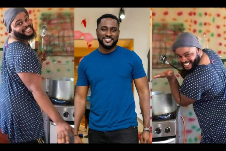 BBNaija 2021: Whitemoney Is Using His Cooking Skills To Win Points And I'll Stop Him - Jealous Pere Vows