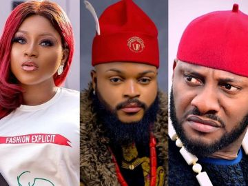BBNaija 2021: Destiny Etiko, Yul Edochie And Other Nollywood Stars Declare Support For Whitemoney As He's Up For Eviction