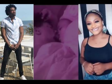 BBNaija21: Watch The Moment Tega And Boma Got Busy Under The Sheets
