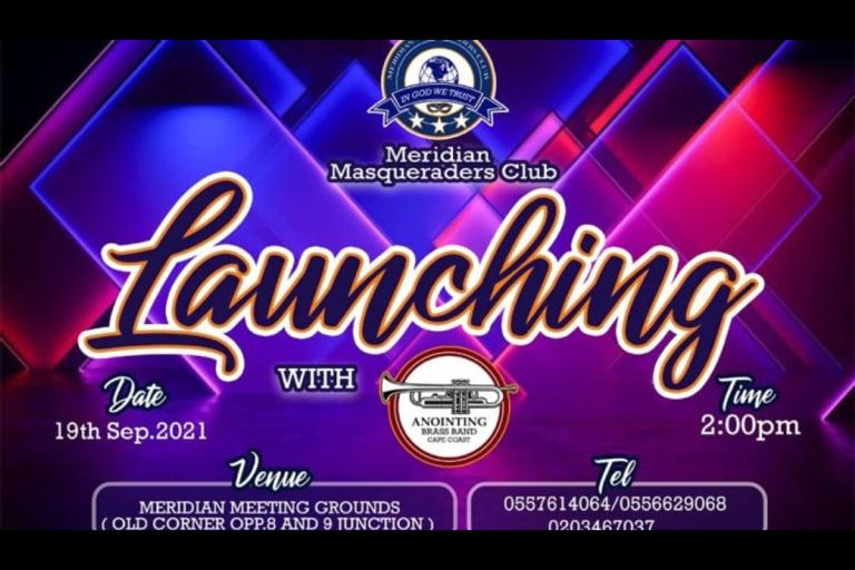 Meridian Masquerading Club Set To Announce Its Presence In Ghana On September 19, 2021