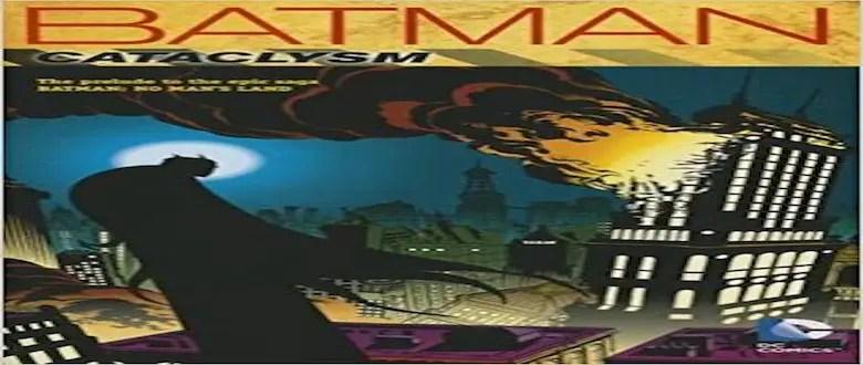 Batman Cataclysm Cover