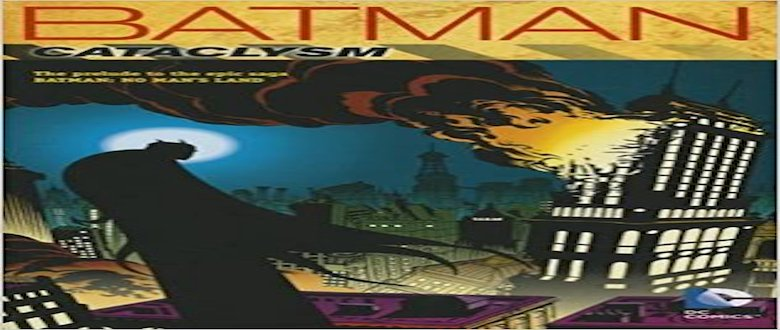 Batman Cataclysm Cover