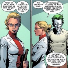 Harleen Quinzel and Joker