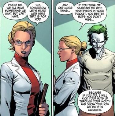 Harleen Quinzel and Joker