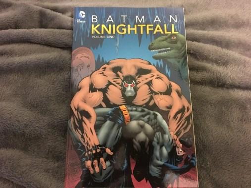 Batman Knightfall Cover